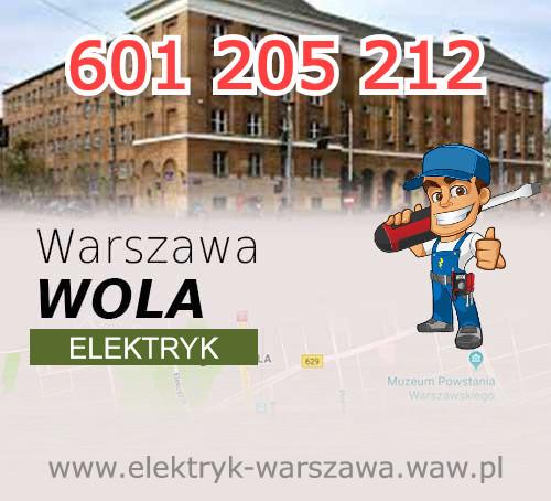 Elektryk Warszawa Wola, usługi elektryczne i instalacje elektryczne